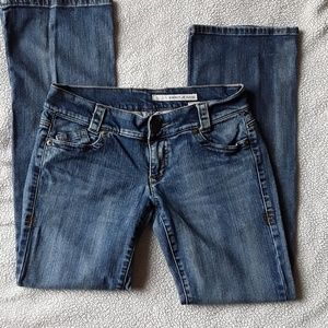 DKNY JEANS Low Rise Flare Medium Wash Size 9R